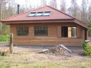 Massieve houtbouw