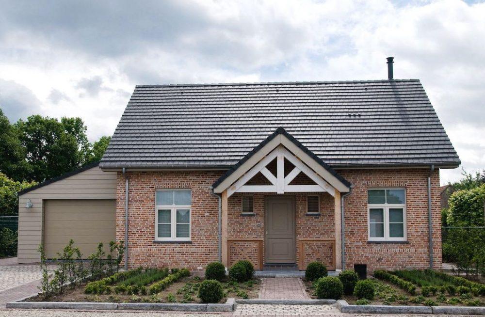 Cottage stijl bouwen landelijke woning realiseren met la casa for Kleine huizen bouwen