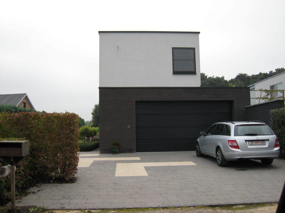 Modern bouwen een moderne bouwstijl van la casa